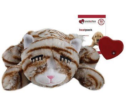 Smart Pet Love Snuggle Kitty Behavioral Aid Cat Toy, Tan Tiger