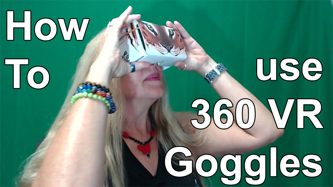 How To Use Cardboard BCR VR Goggles - Get all the links to apps and our 360 videos at BigCatRescue.org/VR
