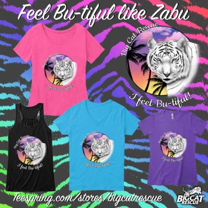 Zabu White Tiger - Big Cat Rescue Merchandise