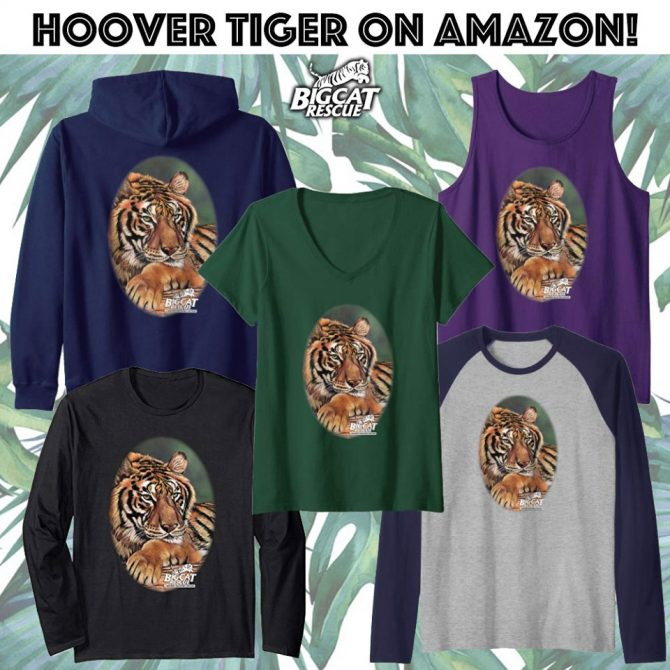Big Cat Rescue Merchandise Hoover Tiger