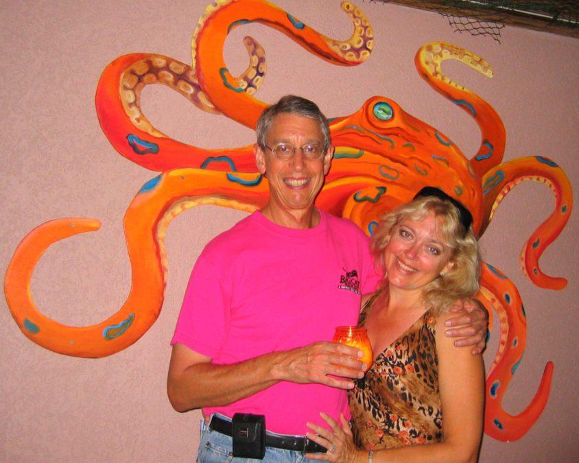 Howard and Carole Baskin Honeymoon 2004