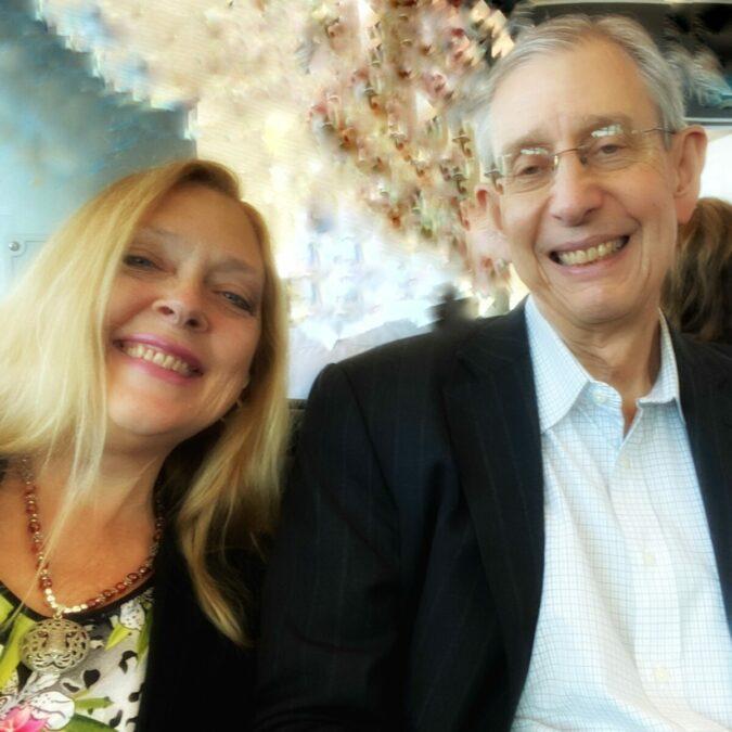 Howard and Carole Baskin at the airport