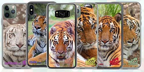 Big Cat Rescue Merchandise Tiger Phone Cases
