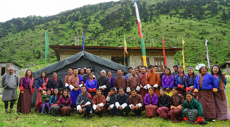 JOMOLHARI Bhutan Insitu Conservation Work