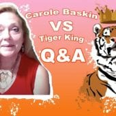 Carole Baskin versus Tiger King Intro