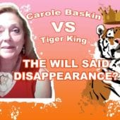 CaroleBaskin VS TigerKing Disappearance