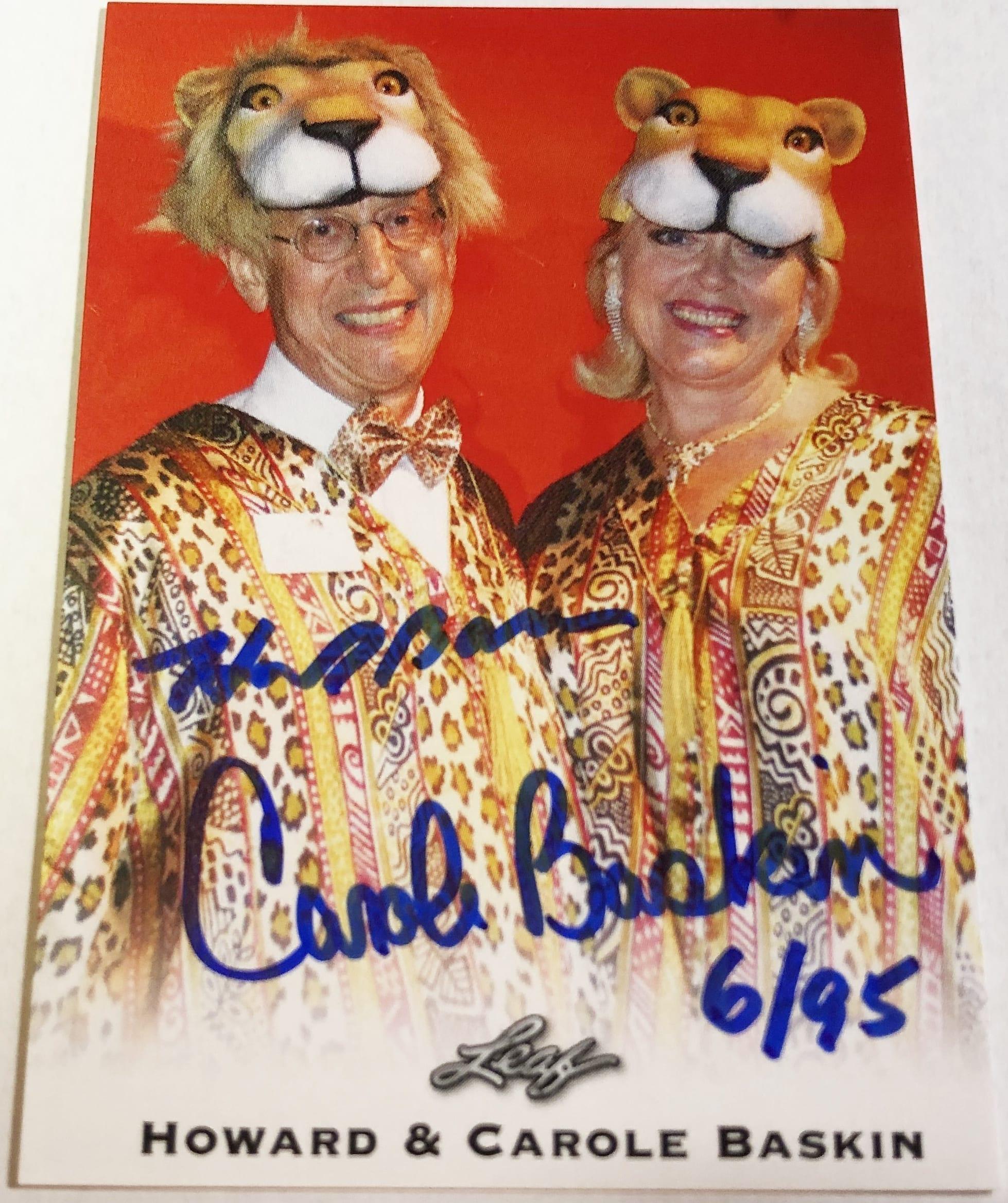 Carole Baskin Autograph