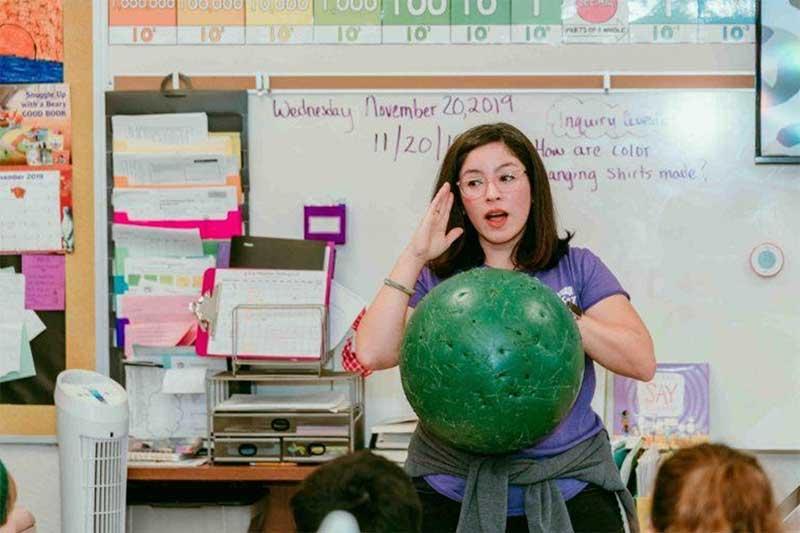 Jennifer Leon Great American Teach In