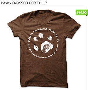 Paws Crossed For Thor